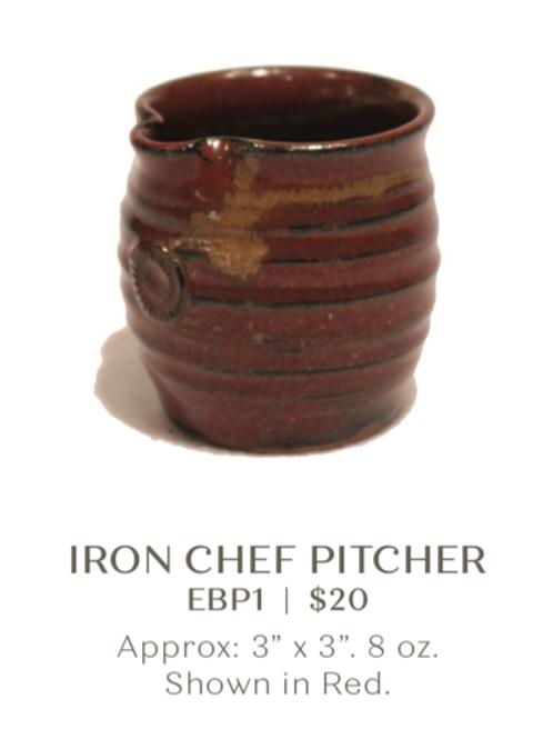 Iron Chef Pitcher