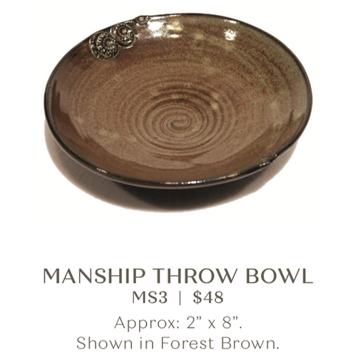 Manship Throw Bowl