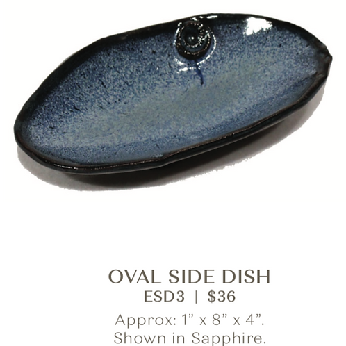 Oval Side Dish