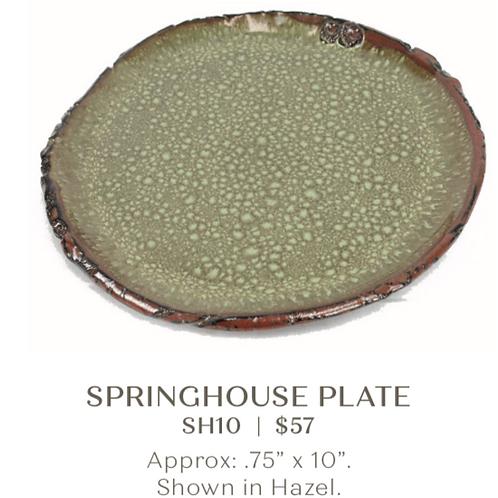 Springhouse Plate