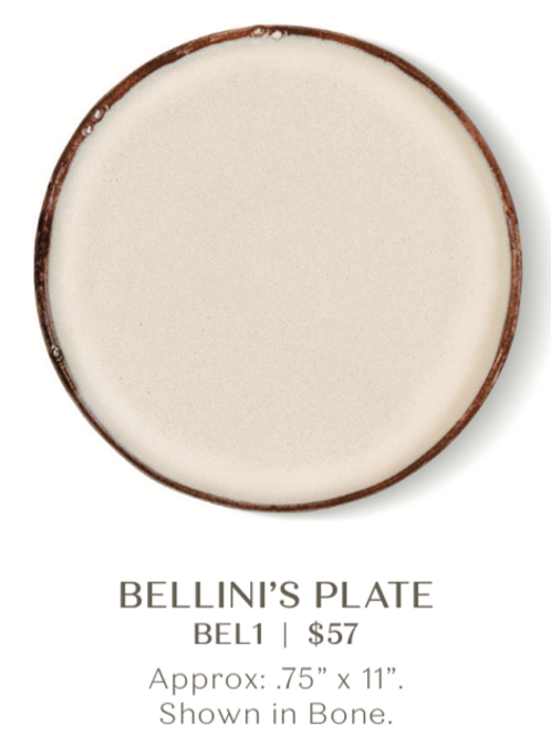 Bellini's Plate