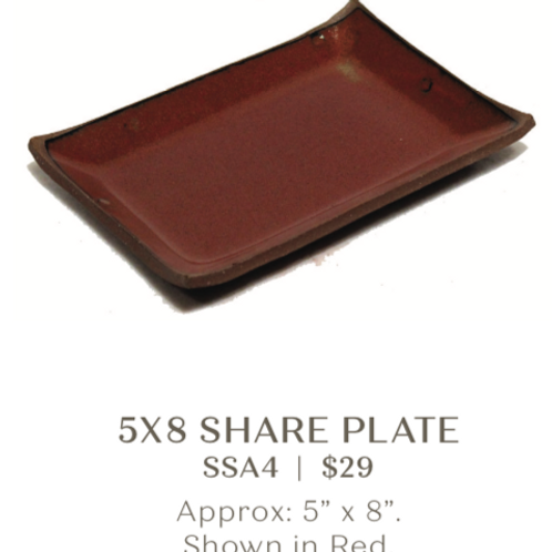 5x8 Share Plate