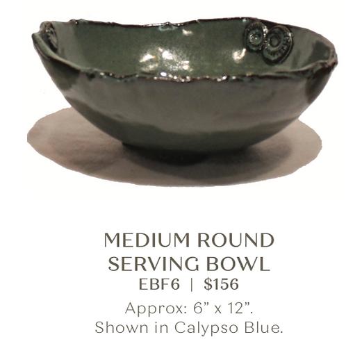 Medium Round Serving Bowl
