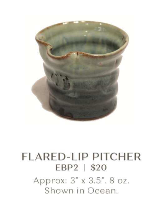 Flared-Lip Pitcher