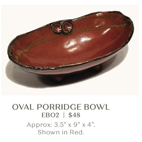 Oval Porridge Bowl