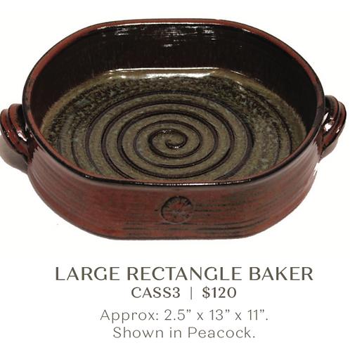 Large Rectangle Baker