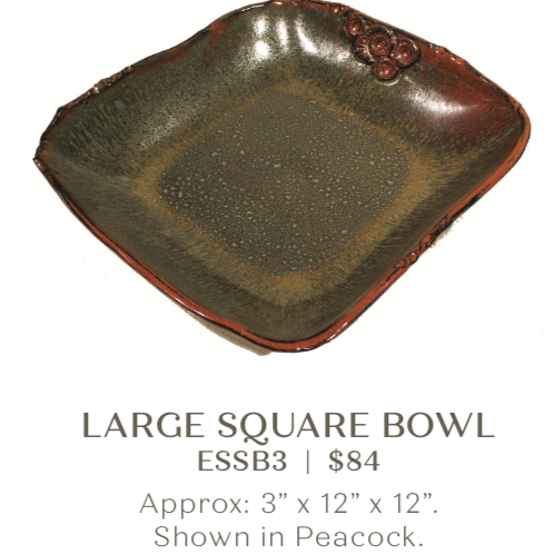 Large Square Bowl