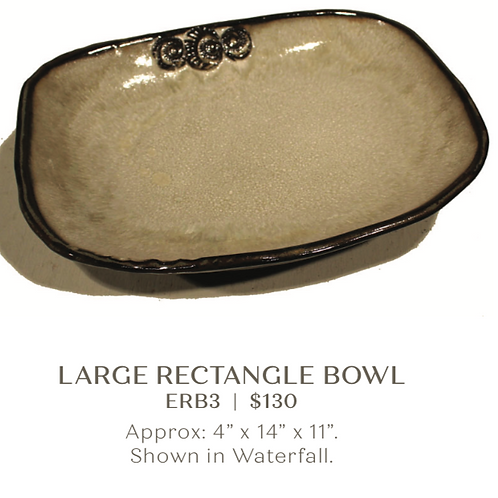 Large Rectangle Bowl