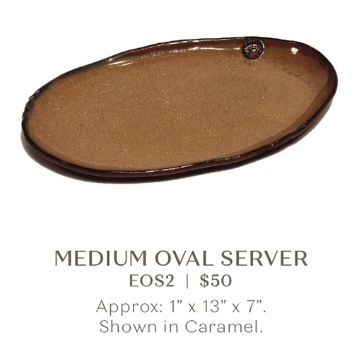 Medium Oval Server