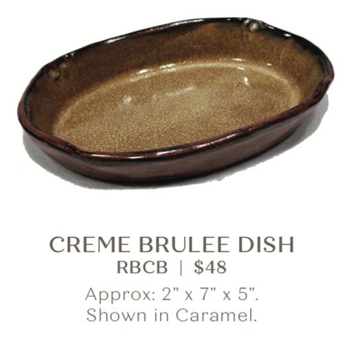 Creme Brûlée Dish