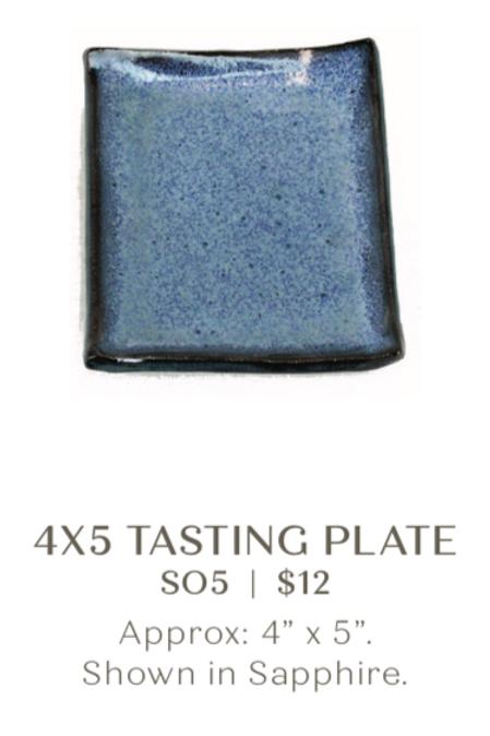 4x5 Tasting Plate