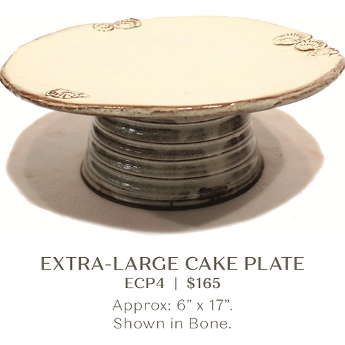 Extra Large Cake Plate