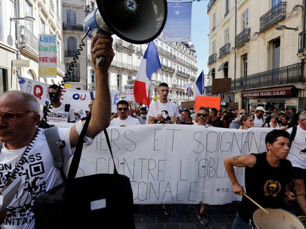 France suspends 3000 unvaccinated Health workers as per new rule