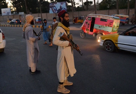 Taliban hang dead body in the main square of Afghanistan's Herat city, witness says
