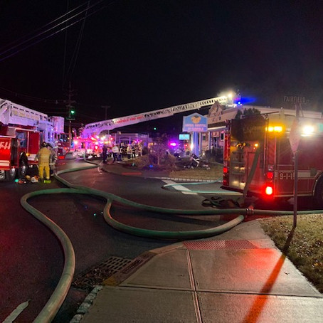 Working Structure Fire at Animal Hospital of Fairfield