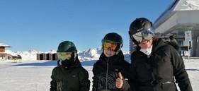 Familienabenteuer Skifahren