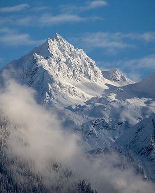 Berge Winter in Gaschurn