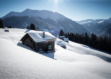 Winterlandschaft Bartholomäberg (c) Andr