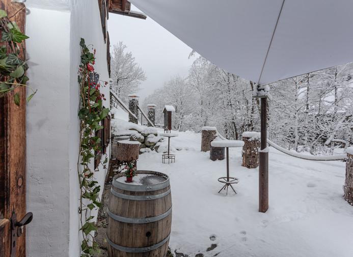 Mühle HEURIGER Winter Eingangsbereich.jp