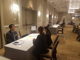 미시간주 디트로이트에서 열린 한국기업 취업박람회