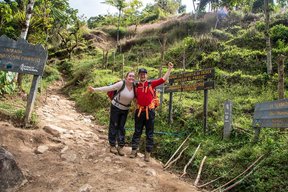 Happy Hikers after climbing Cerro Chirripó