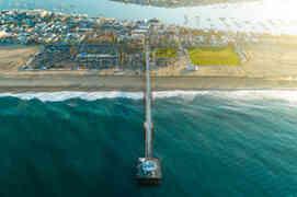 Drone photography | Newport Beach Balboa Pier