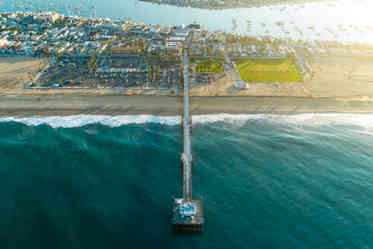 Drone photography | Newport Beach Balboa Pier