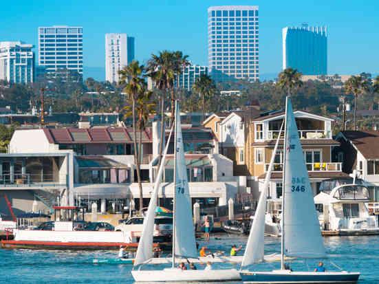Aerial Photographer | Newport Beach harbor