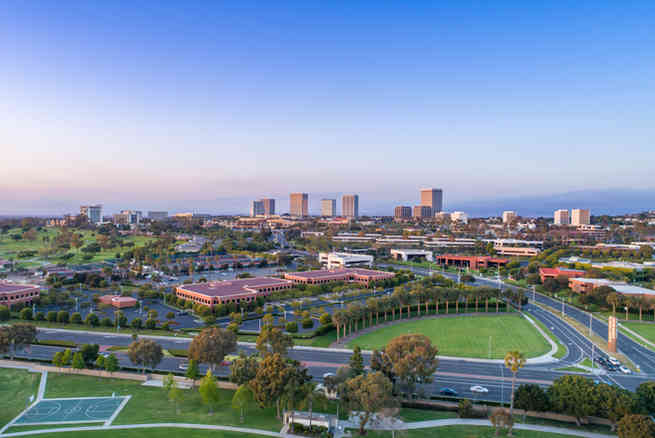 Aerial Photographer | Newport Beach, Fashion Island