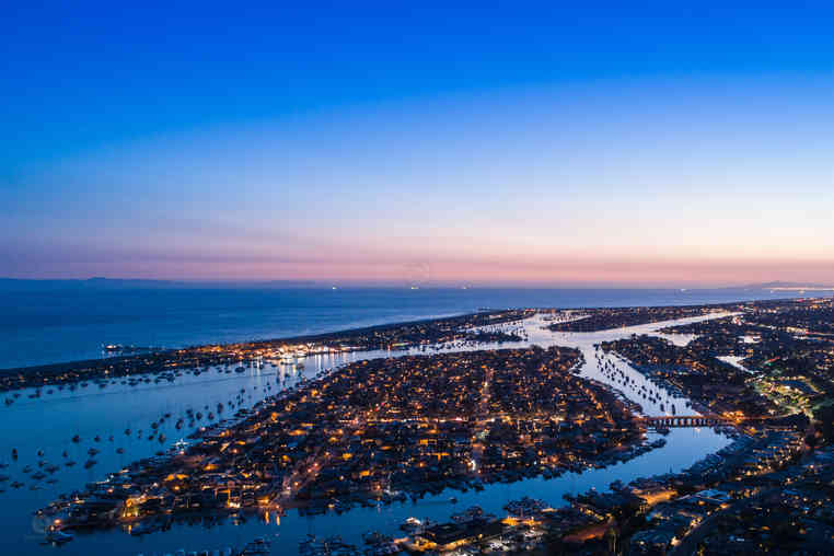 Drone Photographer | Balboa Island, Orange County