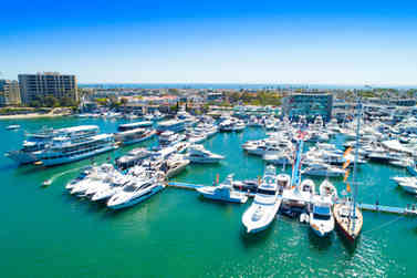 Aerial Photographer | Newport Beach boat show