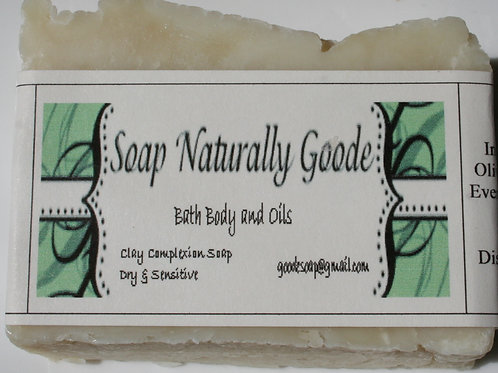 Clay Complexion Soap Dry & Sensitive Skin