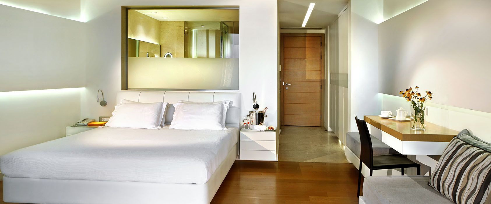 Cavo Olympo junior suite,  Έπιπλα δωματί