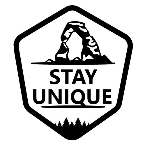 Stay Unique Decal