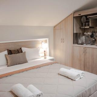 3 Hotel Vizantio, Deluxe diplo Κρεβάτι μ