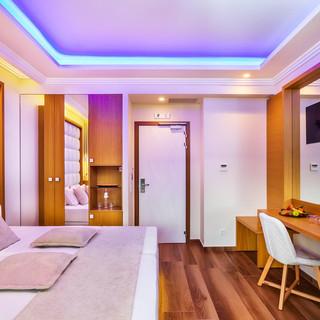 Porto Marine Hotel room Voutsas en oiko.