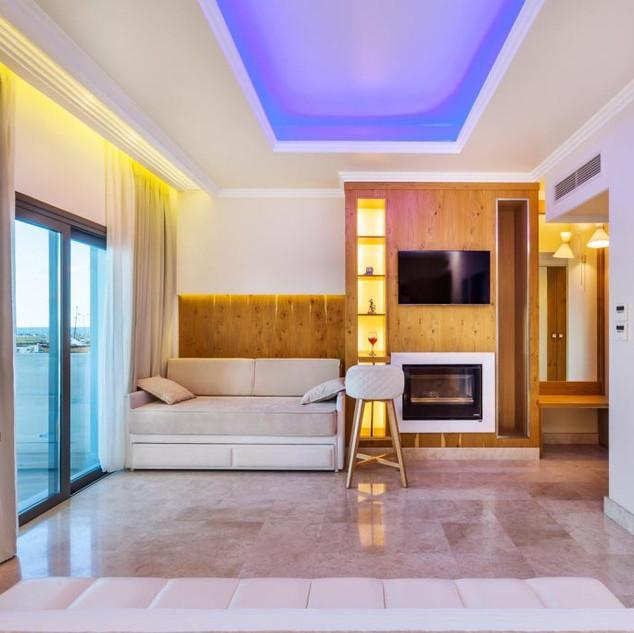 Porto Marine Hotel room Voutsas en oiko