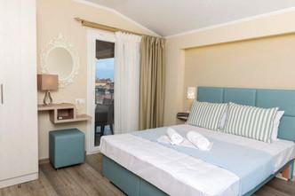 2 Ammos Hotel Deluxe Suite Μπλε γαλάζια