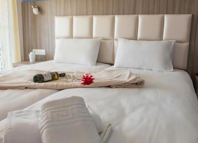 2 Jason Hotel, Κεφαλάρι ξύλο με δερμάτιν
