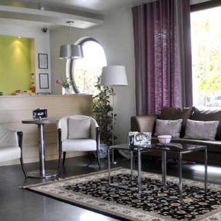 2 Hotel Ifigenia, reception υποδοχή Vout