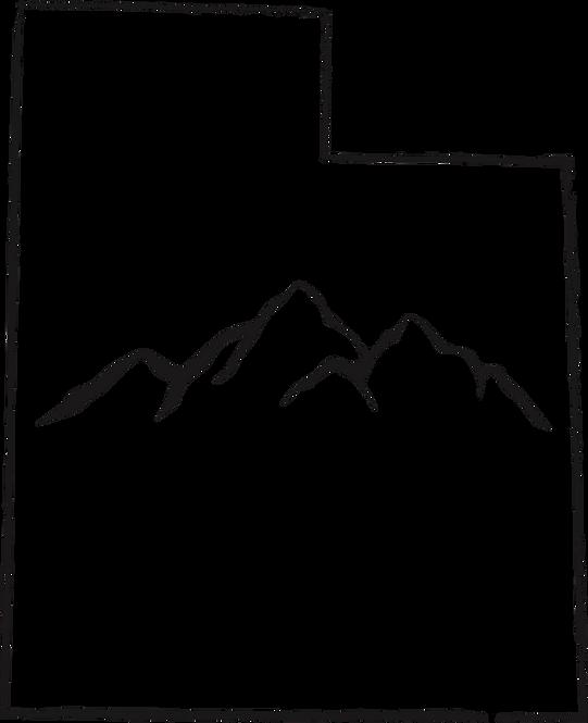 Wasatch Mountains Sticker