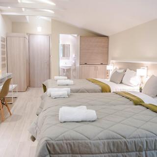 1 Hotel Vizantio, Εξοπλισμός δωματίου Vo