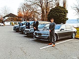 سيارات مع أو بدون سائق في سويسرا