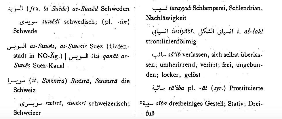 Arabischkurse im Zentrum von Zürich