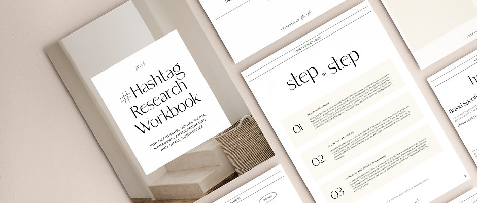 Hashtag Research Workbook