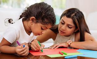 Parent teaching finance