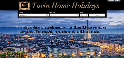 Sito Turin home holiday