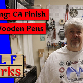 CA Finish for Wooden Pens