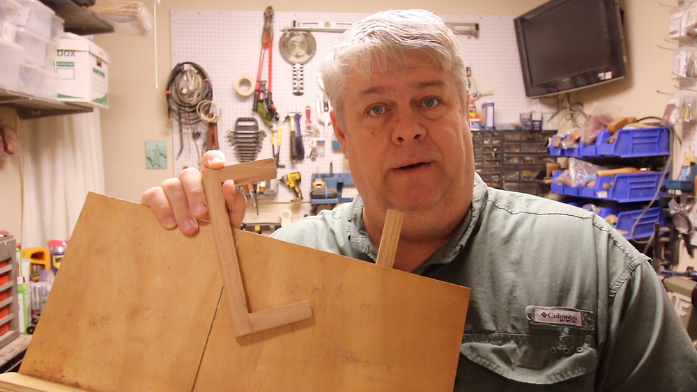 Bandsaw Sled with Pen Sizing Jig