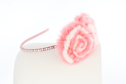 Light Pink Flower Puff